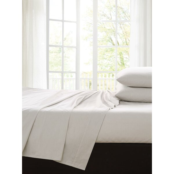 Ingles 200 Thread Count 100% Cotton Sheet Set by Alcott Hill